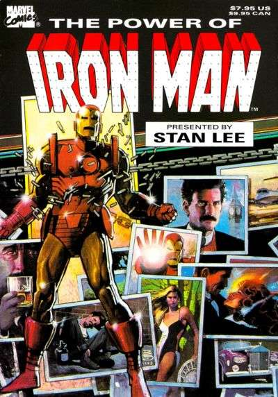 Power of Iron Man comic books