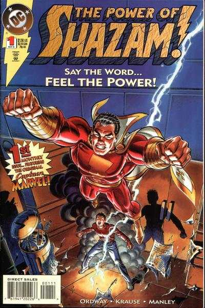 Power of Shazam! #1 comic books - cover scans photos Power of Shazam! #1 comic books - covers, picture gallery