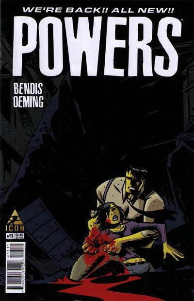 Powers #11 comic books for sale