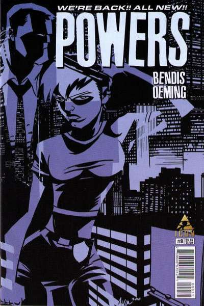 Powers #9 Comic Books - Covers, Scans, Photos  in Powers Comic Books - Covers, Scans, Gallery