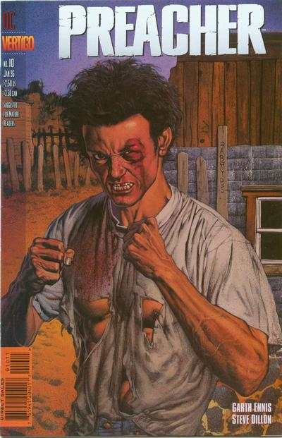 Preacher #10 comic books - cover scans photos Preacher #10 comic books - covers, picture gallery