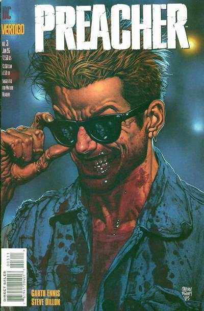 Preacher #3 Comic Books - Covers, Scans, Photos  in Preacher Comic Books - Covers, Scans, Gallery