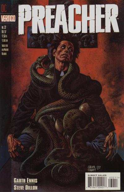 Preacher #32 Comic Books - Covers, Scans, Photos  in Preacher Comic Books - Covers, Scans, Gallery