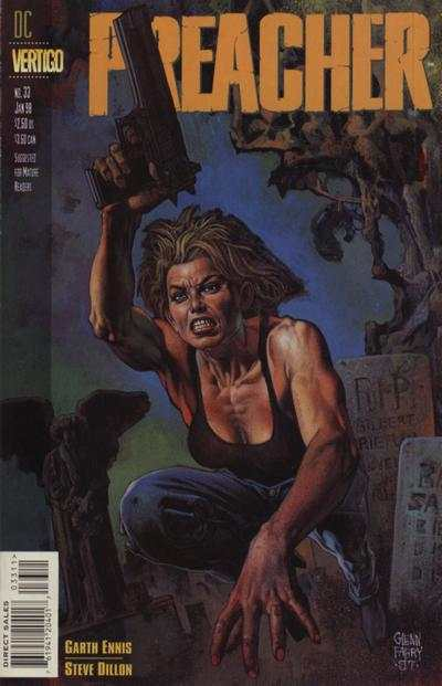 Preacher #33 Comic Books - Covers, Scans, Photos  in Preacher Comic Books - Covers, Scans, Gallery