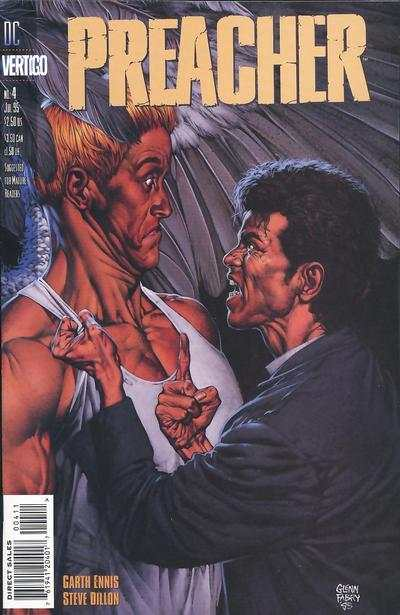 Preacher #4 comic books - cover scans photos Preacher #4 comic books - covers, picture gallery