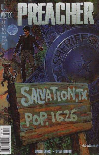 Preacher #41 Comic Books - Covers, Scans, Photos  in Preacher Comic Books - Covers, Scans, Gallery