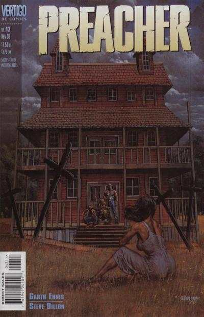 Preacher #43 cheap bargain discounted comic books Preacher #43 comic books