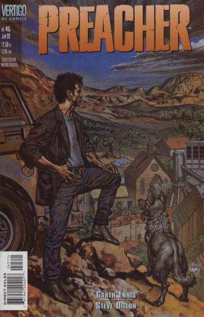 Preacher #45 comic books - cover scans photos Preacher #45 comic books - covers, picture gallery