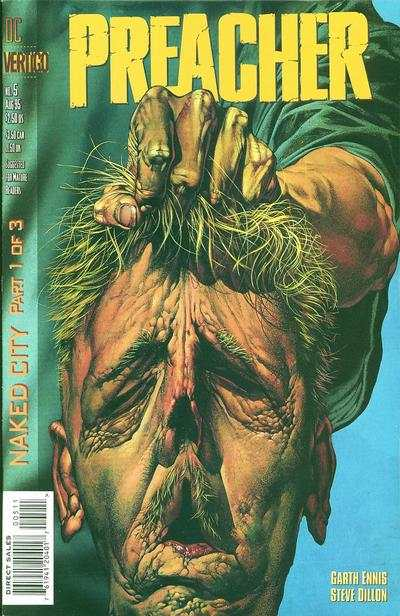 Preacher #5 comic books - cover scans photos Preacher #5 comic books - covers, picture gallery