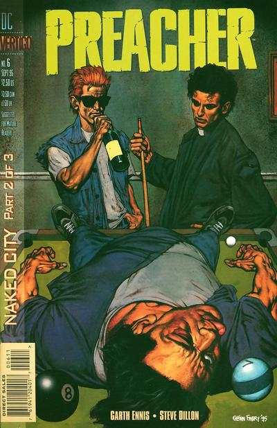 Preacher #6 comic books - cover scans photos Preacher #6 comic books - covers, picture gallery