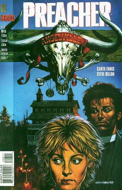 Preacher #8 comic books - cover scans photos Preacher #8 comic books - covers, picture gallery