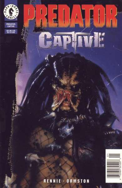 Predator: Captive comic books