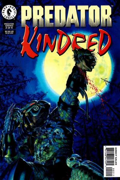 Predator: Kindred #2 comic books for sale