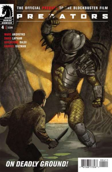 Predators #4 Comic Books - Covers, Scans, Photos  in Predators Comic Books - Covers, Scans, Gallery
