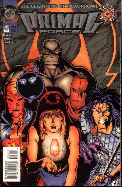 Primal Force #0 comic books - cover scans photos Primal Force #0 comic books - covers, picture gallery