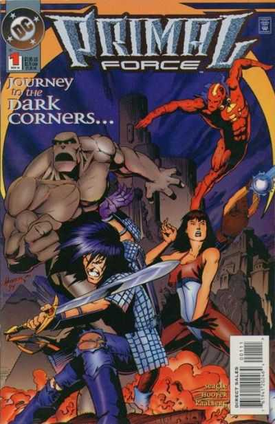 Primal Force #1 comic books - cover scans photos Primal Force #1 comic books - covers, picture gallery