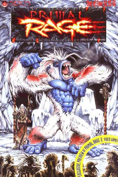 Primal Rage comic books