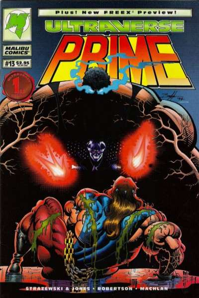 Prime #13 Comic Books - Covers, Scans, Photos  in Prime Comic Books - Covers, Scans, Gallery