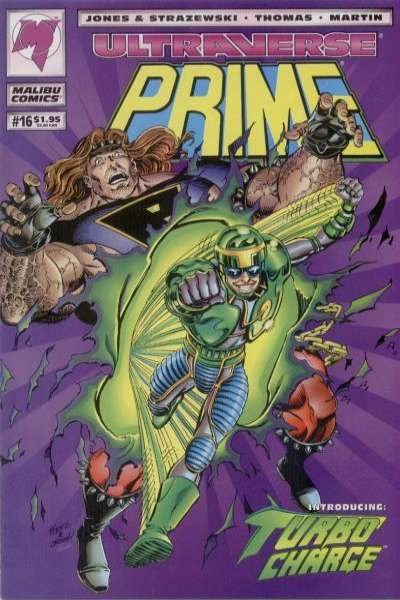 Prime #16 cheap bargain discounted comic books Prime #16 comic books