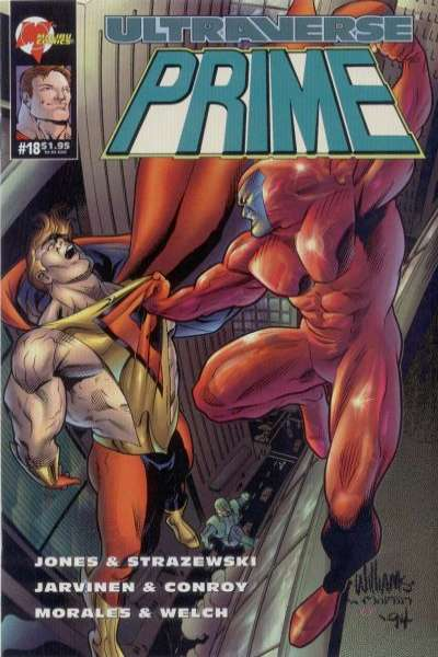 Prime #18 Comic Books - Covers, Scans, Photos  in Prime Comic Books - Covers, Scans, Gallery