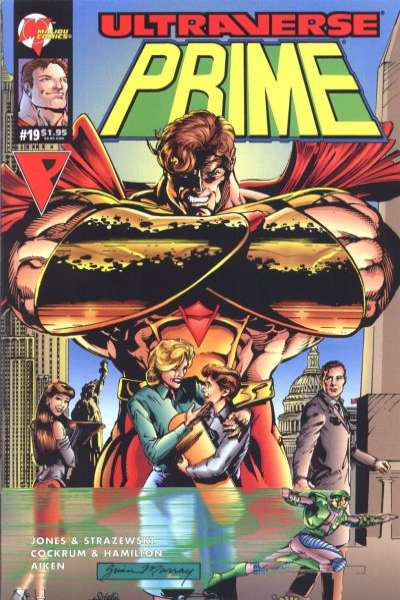 Prime #19 comic books for sale