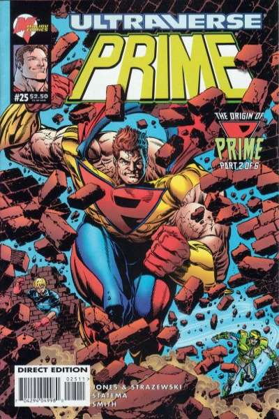 Prime #25 Comic Books - Covers, Scans, Photos  in Prime Comic Books - Covers, Scans, Gallery