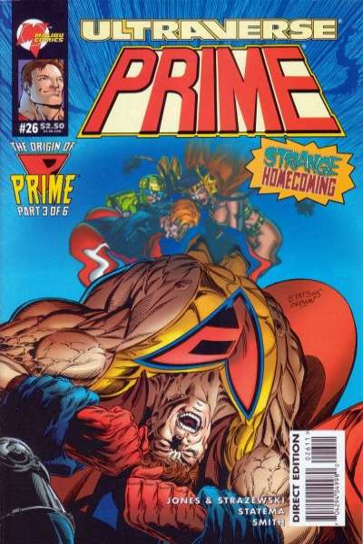 Prime #26 Comic Books - Covers, Scans, Photos  in Prime Comic Books - Covers, Scans, Gallery