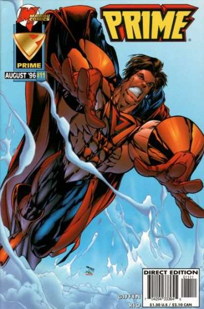 Prime #11 Comic Books - Covers, Scans, Photos  in Prime Comic Books - Covers, Scans, Gallery