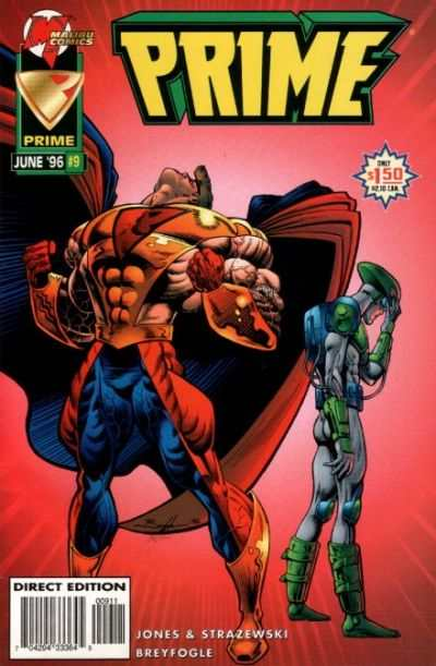 Prime #9 comic books - cover scans photos Prime #9 comic books - covers, picture gallery