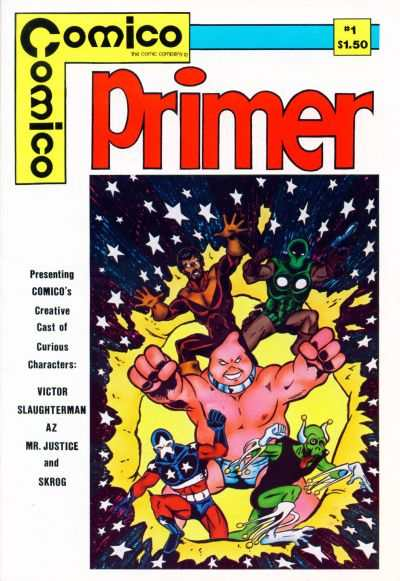 Primer #1 Comic Books - Covers, Scans, Photos  in Primer Comic Books - Covers, Scans, Gallery