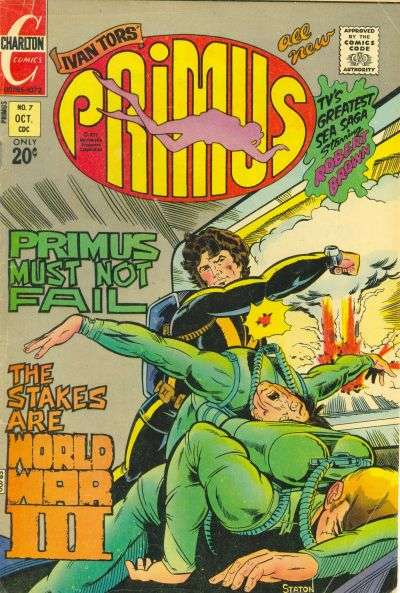 Primus #7 comic books - cover scans photos Primus #7 comic books - covers, picture gallery