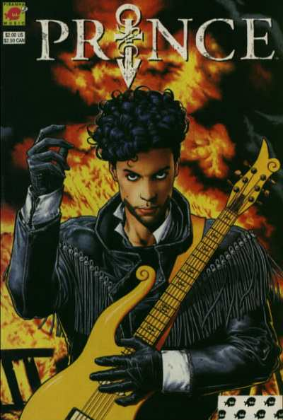 Prince: Alter Ego comic books