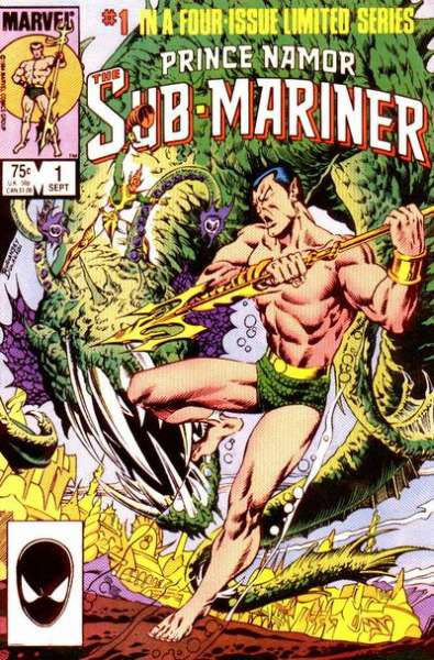 Prince Namor: the Sub-Mariner comic books