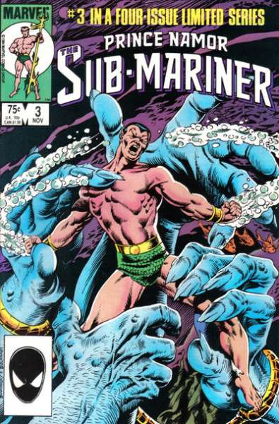 Prince Namor: the Sub-Mariner #3 comic books for sale