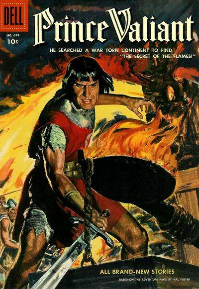 Prince Valiant #3 comic books - cover scans photos Prince Valiant #3 comic books - covers, picture gallery