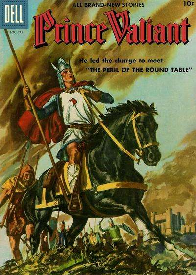 Prince Valiant #4 comic books - cover scans photos Prince Valiant #4 comic books - covers, picture gallery