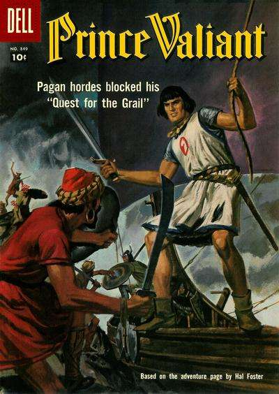 Prince Valiant #6 comic books - cover scans photos Prince Valiant #6 comic books - covers, picture gallery