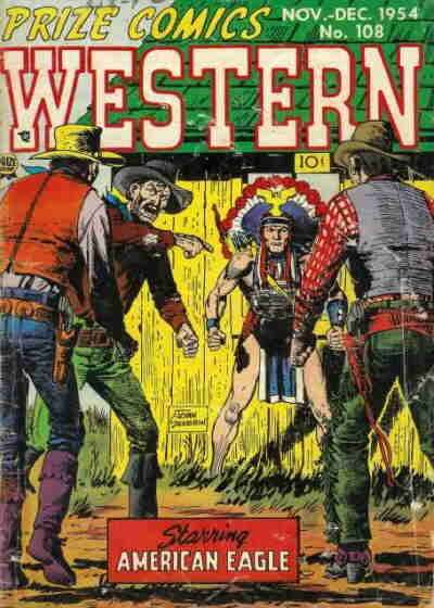 Prize Comics Western #108 comic books - cover scans photos Prize Comics Western #108 comic books - covers, picture gallery