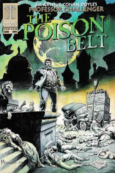 Professor Challenger: The Poison Belt #1 comic books - cover scans photos Professor Challenger: The Poison Belt #1 comic books - covers, picture gallery