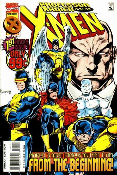 Professor Xavier and the X-Men comic books