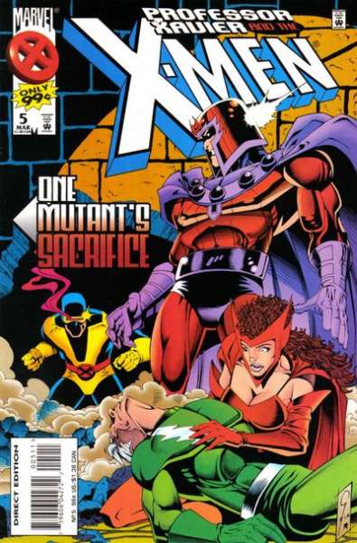 Professor Xavier and the X-Men #5 comic books for sale