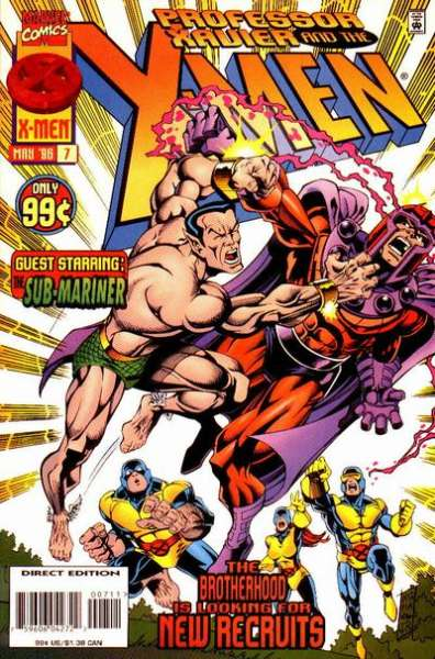 Professor Xavier and the X-Men #7 comic books for sale