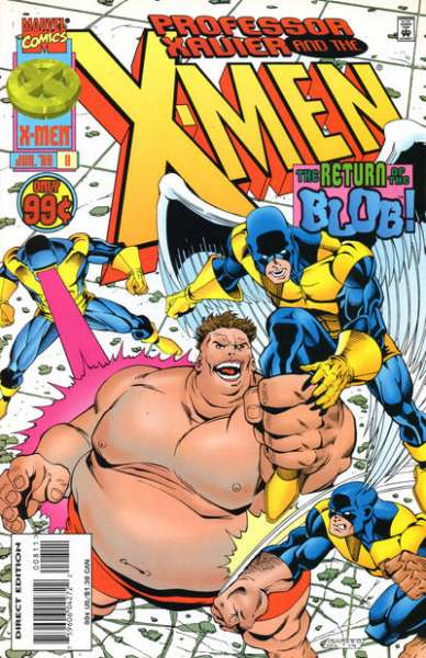 Professor Xavier and the X-Men #8 comic books for sale