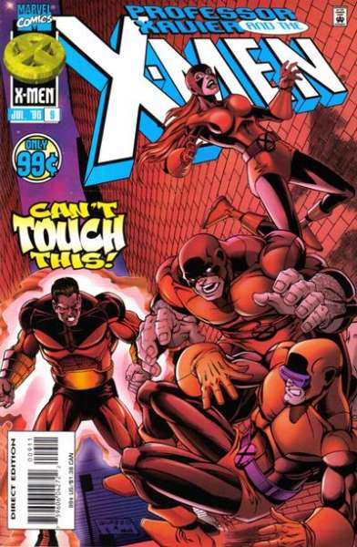 Professor Xavier and the X-Men #9 comic books for sale
