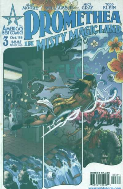 Promethea #3 Comic Books - Covers, Scans, Photos  in Promethea Comic Books - Covers, Scans, Gallery