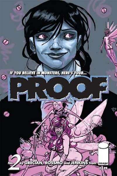 Proof #2 comic books - cover scans photos Proof #2 comic books - covers, picture gallery