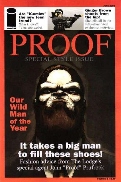 Proof #9 comic books - cover scans photos Proof #9 comic books - covers, picture gallery