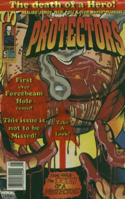 Protectors #5 comic books - cover scans photos Protectors #5 comic books - covers, picture gallery