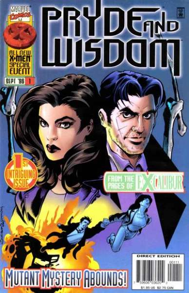 Pryde and Wisdom #1 Comic Books - Covers, Scans, Photos  in Pryde and Wisdom Comic Books - Covers, Scans, Gallery