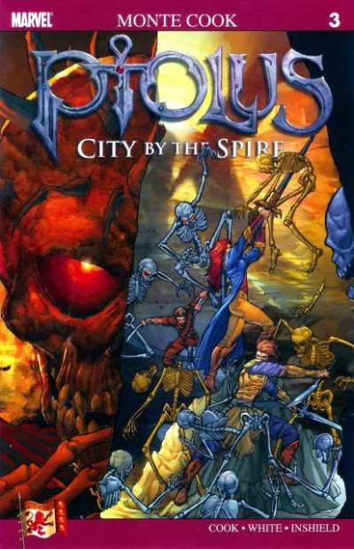 Ptolus: City by the Spire #3 comic books for sale
